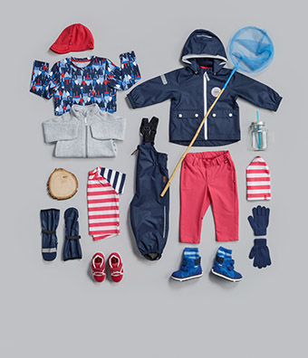 Weatherproof garments from tip to toe!