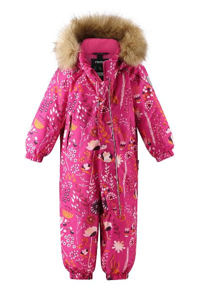 Toddlers' winter snowsuit Lappi Raspberry pink