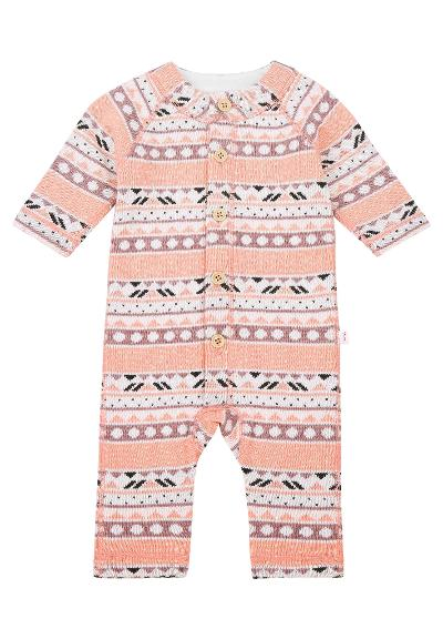 Ulldress til baby Lyhde Powder pink