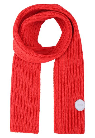 Kinder Strickschal Nuuksio Tomato red