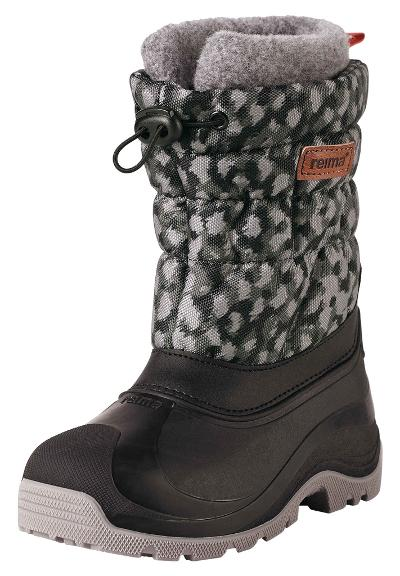 Kinder Winterstiefel Ivalo Black