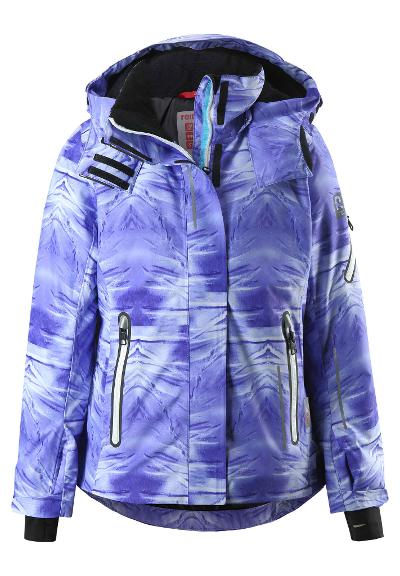 Juniors' ski jacket Frost Violet