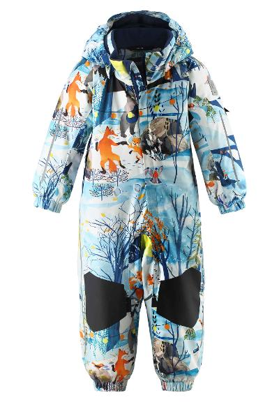 Toddlers' winter snowsuit Maa Blue dream