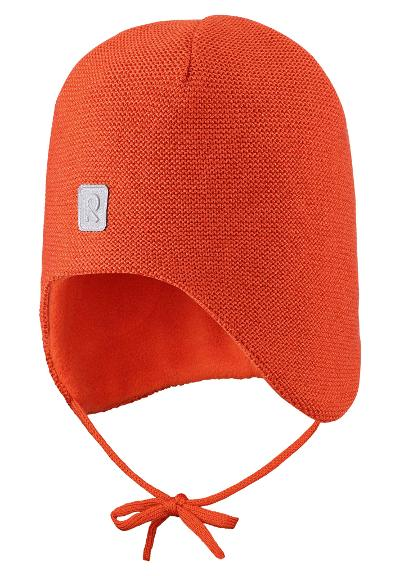 Kleinkinder Wollmütze Hopea Foxy orange