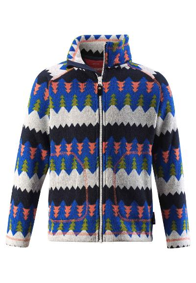 Kinder Fleecejacke Brollies Brave blue