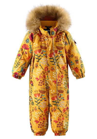 Toddlers' winter snowsuit Lappi Warm yellow