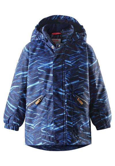 Kids' winter jacket Nappaa Brave blue