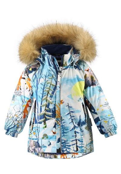 Toddlers' winter jacket Sukkula Blue dream