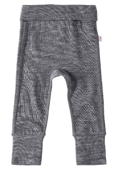 Babies' wool pants Kotoisa Melange grey