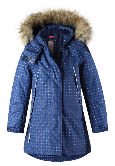 Kids' winter jacket Muhvi Navy