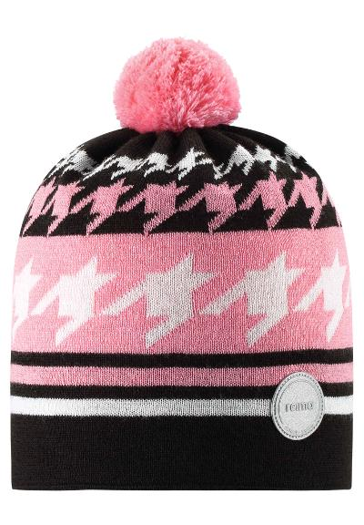 Kids' wool-mix beanie Kohva Bubblegum pink