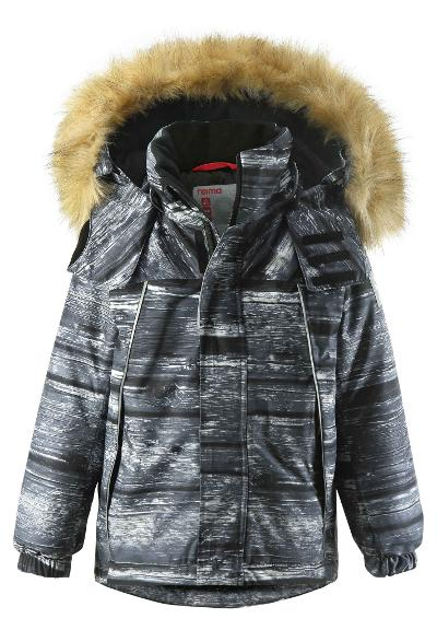 Reimatec winter jacket, Niisi Soft black Soft black
