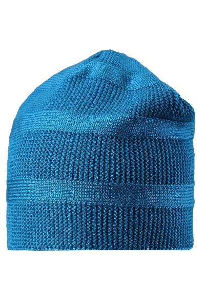 Kinder Strickmütze Pettu Blue