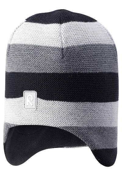 Kids' wool beanie Huurre Black
