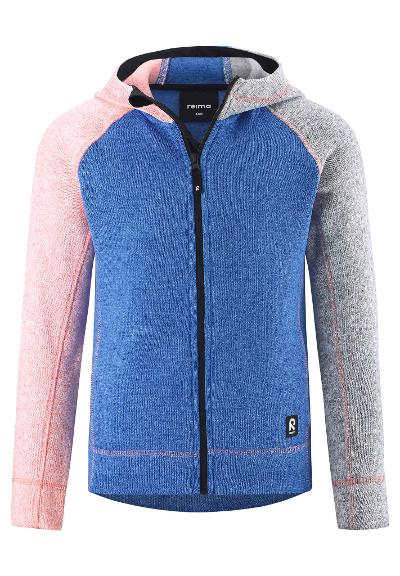 Kinder Fleecejacke Lively Marine blue