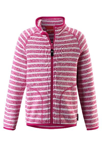 Kids' fleece jacket Havn Raspberry pink
