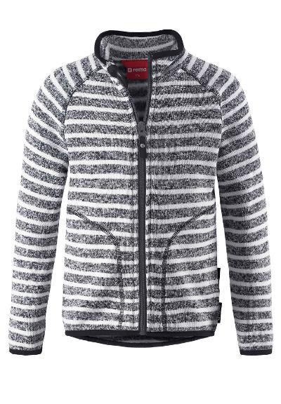 Kinder Fleecejacke Havn Soft black