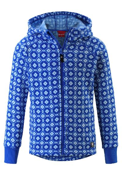 Kinder Strickfleecejacke Northern Brave blue