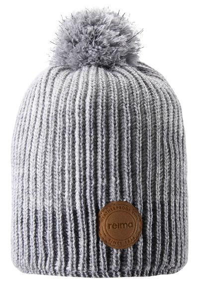 Kids' reflective beanie Bulo White