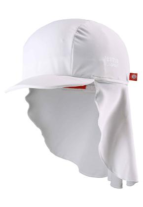 Toddlers' UV-hat Vesikko White