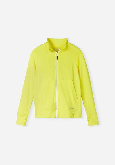 Kinder Xylitol Cool Sweatjacke Viivana Lemon yellow