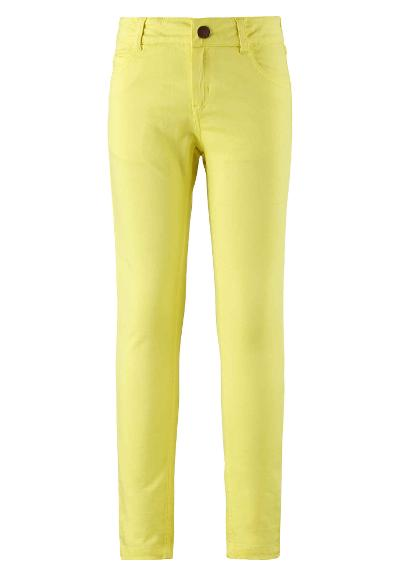 Kids' trousers Rausku Lemon yellow