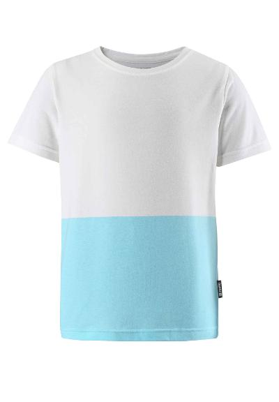 Barn t-shirt Aksila Light turquoise