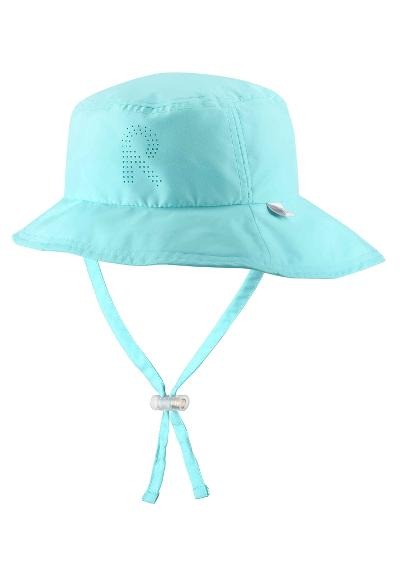 Barn solhatt Tropical Light turquoise