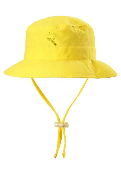 Lasten uv-hattu Tropical Yellow
