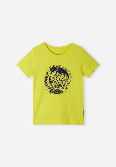 Barn T-shirt Ajatus Lemon yellow