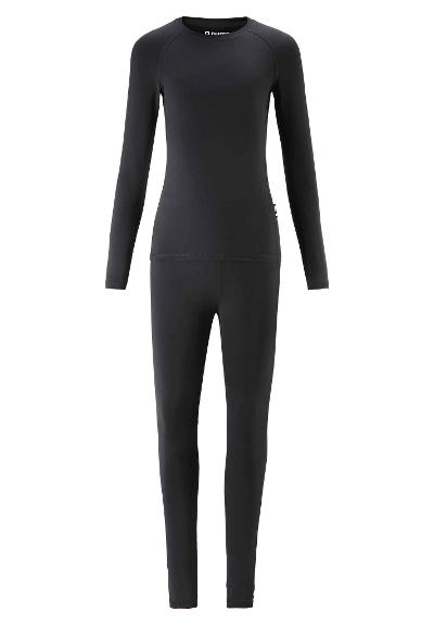 Juniors' base-layer set Lighten Black