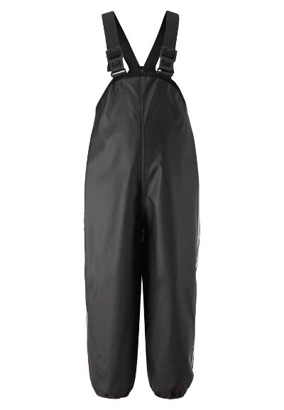 Kids' waterproof trousers Lammikko Graphite black