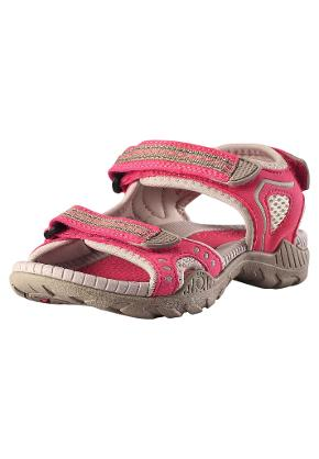 Kids' sandals Luft Raspberry red
