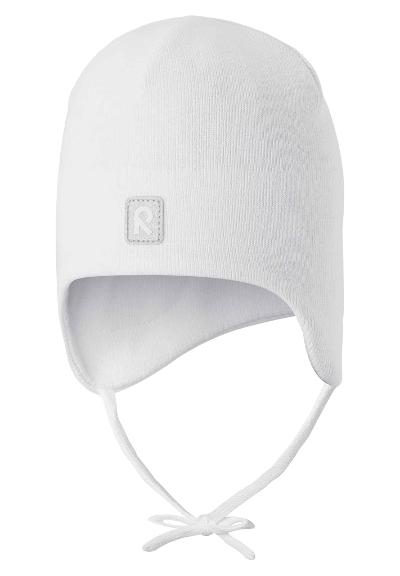 Kids' cotton beanie Kivi White