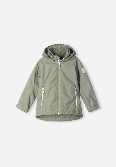 Kids' spring jacket Soutu Greyish green