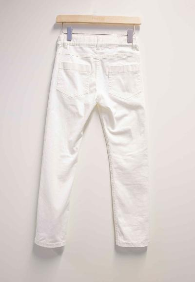 Kinderhose Rausku  Off white