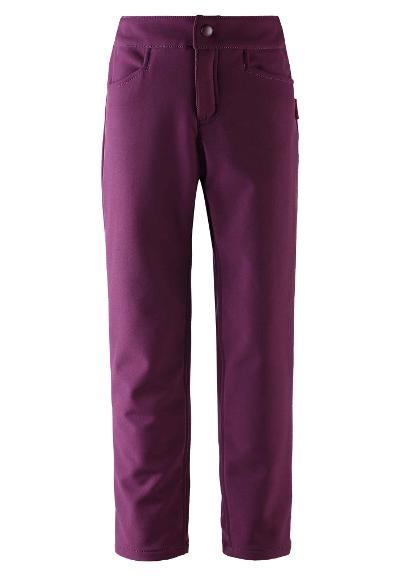 Lasten softshell-housut Idea Deep purple