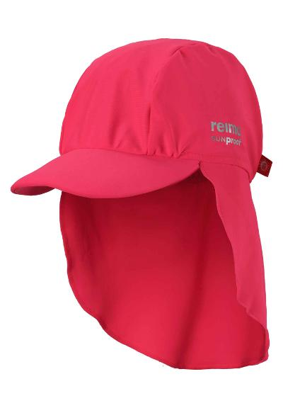 UV-solhatt Turtle Neon Red