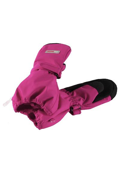 Waterproof kids' mittens Askare Pink