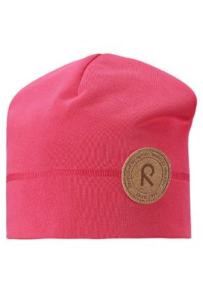 Kids' beanie Puhkus Raspberry red