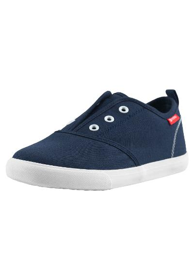 Barn canvas skor Stepping Navy