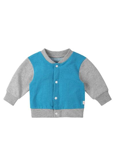 Toddlers' buttoned sweater Maalis Turquoise