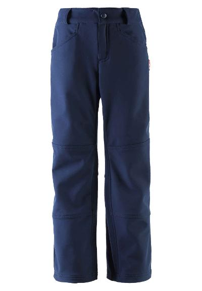 Kids' softshell trousers Mighty Navy