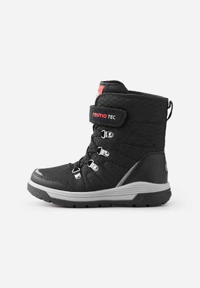 Reimatec boots, Quicker Black Black