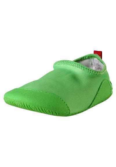 Kinder Badeschuhe Twister Summer green