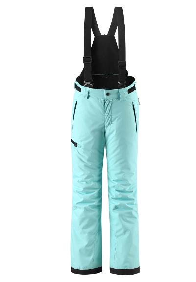 Kids' ski trousers Terrie Light turquoise