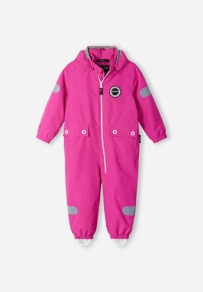 Toddlers' spring jumpsuit Marssi Fuchsia pink