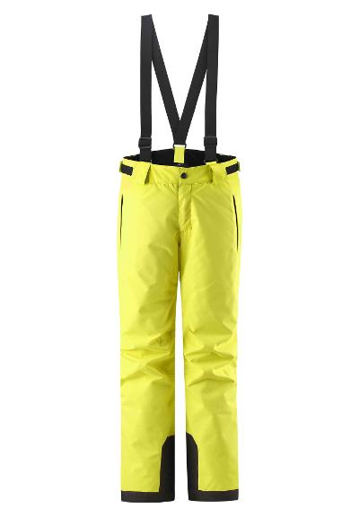 Kids' ski trousers Takeoff Lemon yellow