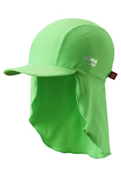 UV-solhatt Turtle Summer green