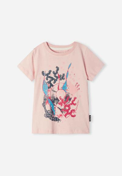 Barn T-shirt Ajatus Soft pink
